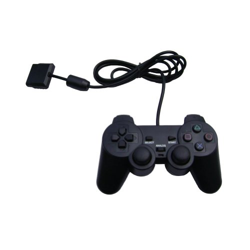 OSTENT Wired Analógico Controlador Gamepad Joystick Joypad para Sony Playstation PS2 PS1...