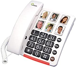 CARE80 Amplified Corded Phone with Picture Dialling