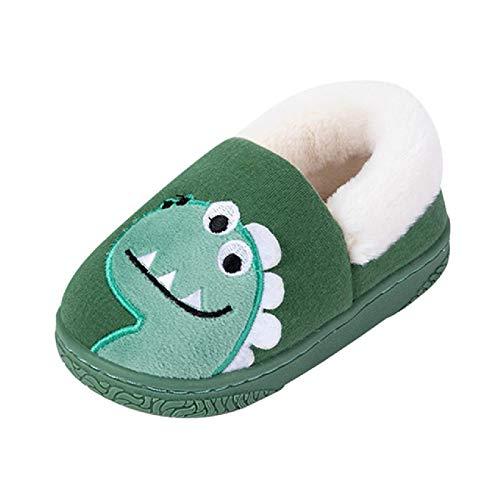 Zapatillas de bebé para niños pequeños, Zapatillas de Invierno cálidas y Bonitas para bebés, Zapatos para el hogar al Aire Libre