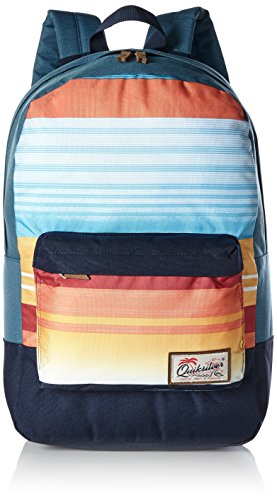 Quiksilver Night Track PRI Sac à dos pour homme Taille moyenne Taille unique Nasturticm Everyday Stripes