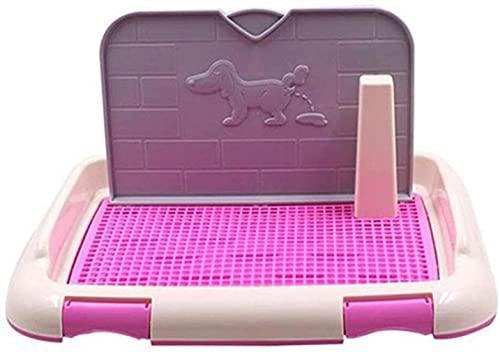 Toilette Formation de toilette Animaux Potty Chiot Pad Dog Terrasse Terrasse Toilettes Réutilisables Boîte De Tritisserie Bac à animaux de compagnie Petits chiens Moyenne Fournitures Boîtiers de litiè