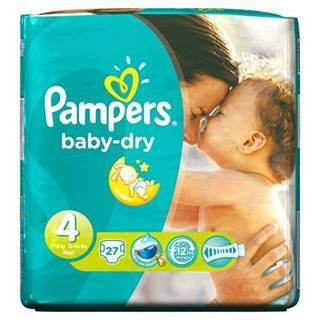 Pampers Baby Dry Size 4 (7-18kg) x 27 per pack