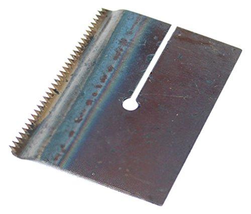 BONUS Eurotech 3AY00.20.0050/0005A verwisselbaar metalen mes, gekarteld, voor dispenser D1/50TN, breedte 50 mm