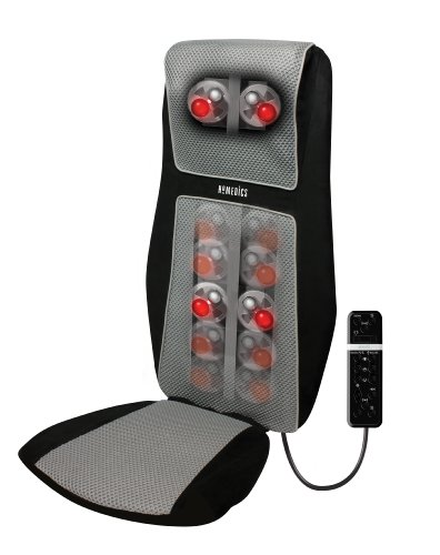HoMedics SBM-600H-EU massaggiatore Nero, Argento