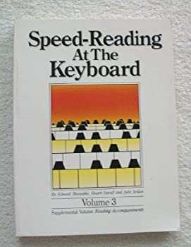 Speed Reading at the Keyboard 0943748259 Book Cover