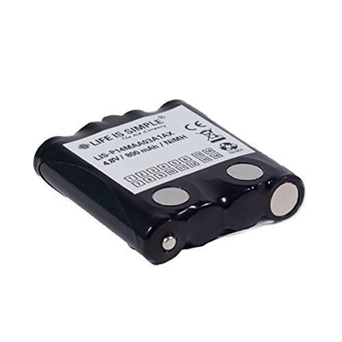Motorola batería 800mAh NiMH compatible con Motorola TLKR-T4, TLKR-T5, TLKR-T7 y XTR446, MicroTalk 80, 85, 100, 110, 115, 200, 300, PR500, PR900