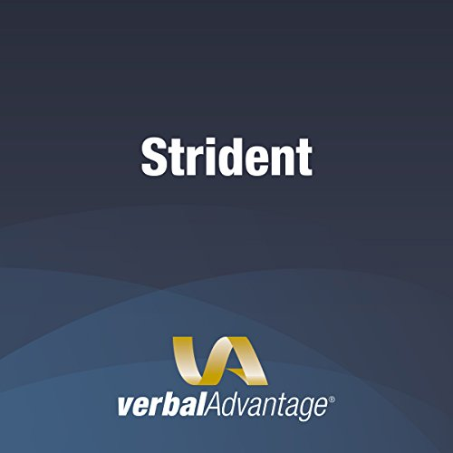 Word of the Day: Strident cover art