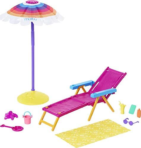 Barbie GYG17 - Loves the Ocean Strandspaß Spielset, ab 3 Jahren