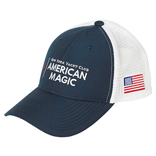 Helly Hansen Am Trucker Casquettes Unisex Mixte Adulte, American Magic, FR Unique (Taille Fabricant : STD)