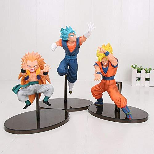 CXNY Dragon Ball Super Saiyan Son Goku vegetto Gotenks Figuras de accion Coleccion Modelo Juguetes Dragon Ball Z