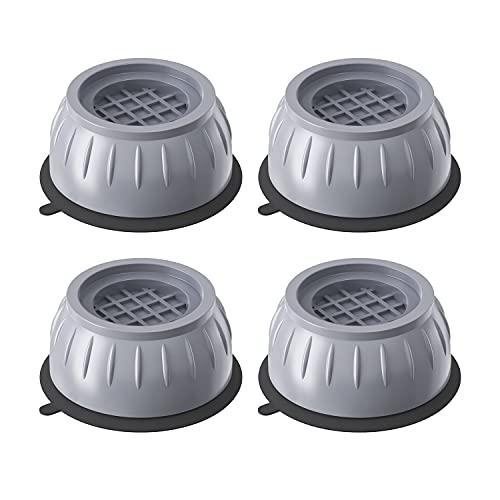 Almohadillas lavadora universal, Piezas de recambio y accesorios para pies lavadora y secadora - antivibracion lavadora - Ø 50 mm, Altura 40 mm