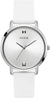 Guess Womens Quartz Watch, Analog Display and Rubber Strap W1210L1