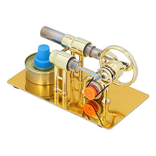 Motor Stirling, equipo de experimentación científica, juguete educativo, modelo de mini motor para material didáctico, reemplazo de decoraciones para bricolaje.