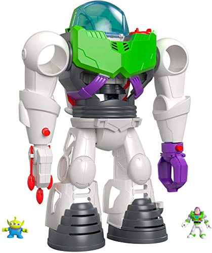 Fisher-Price Imaginext - Disney Toy Story 4  Robot Buzz Lightyear, Juguetes Niños 3 Años (Mattel GBG65)