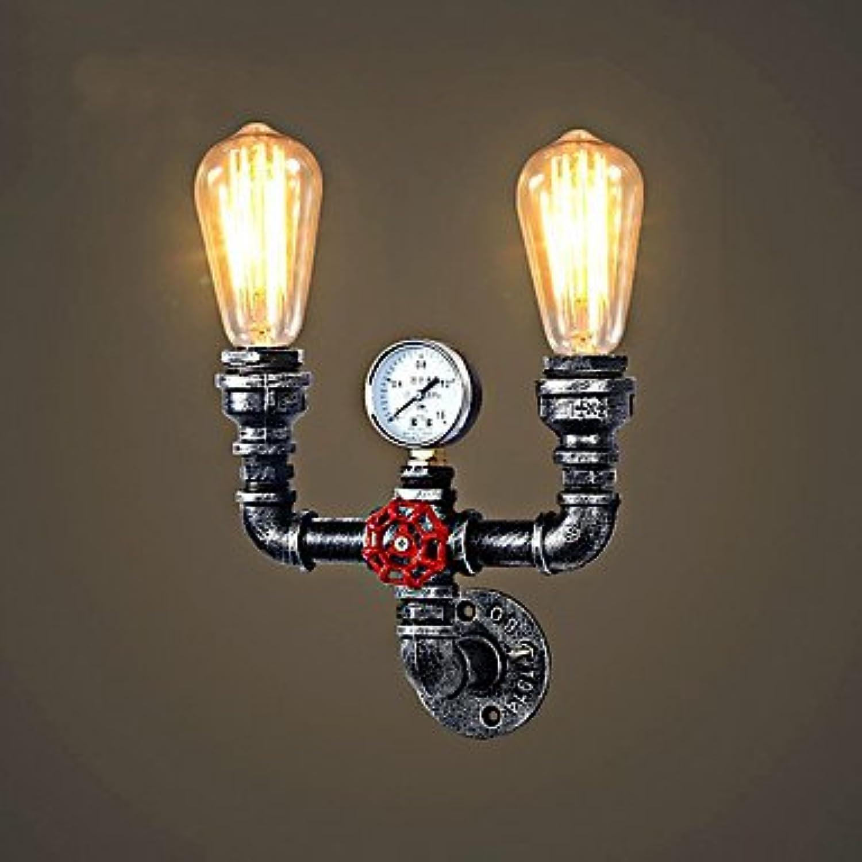FUSHENG Light Rustikal Lndlich   Retro Landhaus Stil Wandlampen Metall Wandleuchte 110-120V   220-240V Max 60W