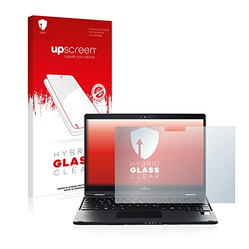 upscreen Hybrid Glass Panzerglas Schutzfolie kompatibel mit Fujitsu Lifebook U939X 9H Panzerglas-Folie