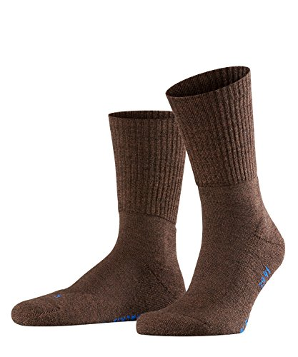 FALKE Unisex Socken, Walkie Light U SO-16486, Braun (Dark Brown 5450), 44-45