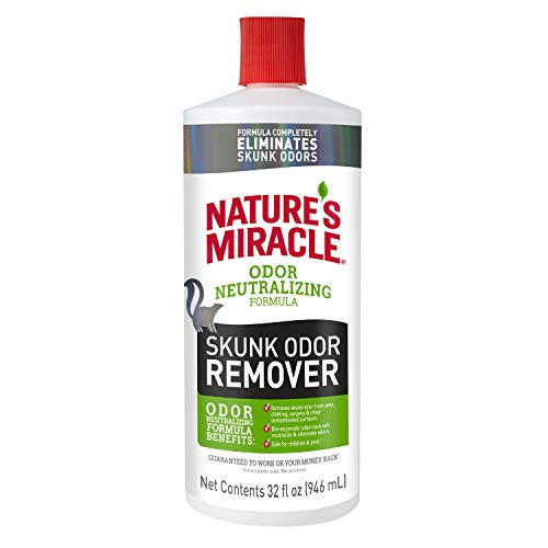 Nature's Miracle Skunk Odor Remover Odor Neutralizing Formula, 32 fl oz