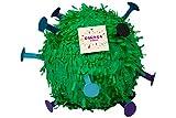 Trendario Pinata Virus, Ideal zum Befüllen mit Süßigkeiten und Geschenken - Piñata für Kindergeburtstag Spiel, Geschenkidee, Partyspiele