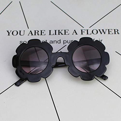 Sonnenbrille Kind Hübsche Brille Mädchen Sonnenbrille Mode Junge Mädchen Kind Klassische Vintage Süße Sonnenbrille Schwarz