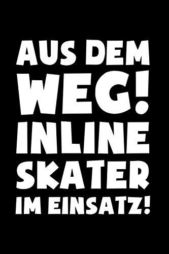 Inline Skates: Inline Skater im Einsatz!: Notizbuch / Notizheft für Inliner Aggressive Skates Speedskates A5 (6x9in) liniert mit Linien