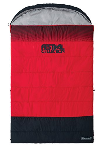 COLEMAN FESTIVAL SLEEPING BAG - DOUBLE