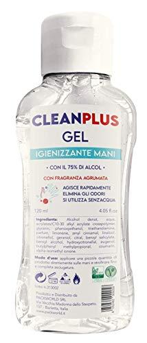 GEL MANI 120 ML CON 75% ALCOOL CLEANPLUS
