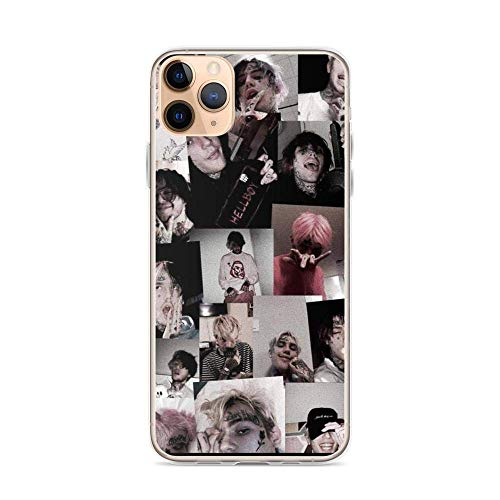 Ddftet Compatible with iPhone 12 Pro Max Case Lil Peep Rip Pure Clear Phone Cases Cover