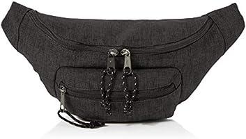 AmazonBasics Bum Bag with Double Pocket, 3L, Black