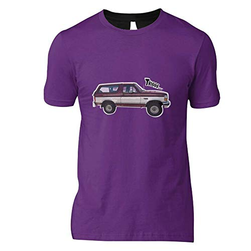 D-D-O-U-G-G Cars Fan Print Classic T Shirt Design Ford Bronco Shirts Soft Women U-U-N-I-Q-U-E-E Tees Best Ford Bronco Shirts Cheap Design