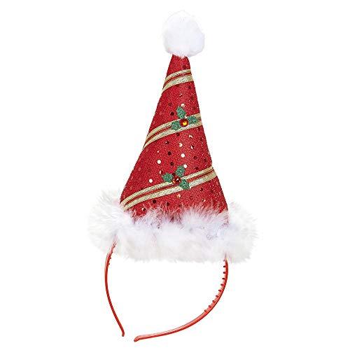Widmann 05683 Bonnet de Père Noël Mini, Mixte Adulte, Taille Unique