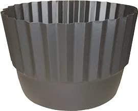 """Henta Set of 2 Flex-O-Liner Whiskey Barrel Planter Liner (Black, PE Plastic, 26"""" D x 14.5"""" H)"""