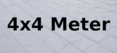 Tapis de sol PVC 4 x 4 mètres gris