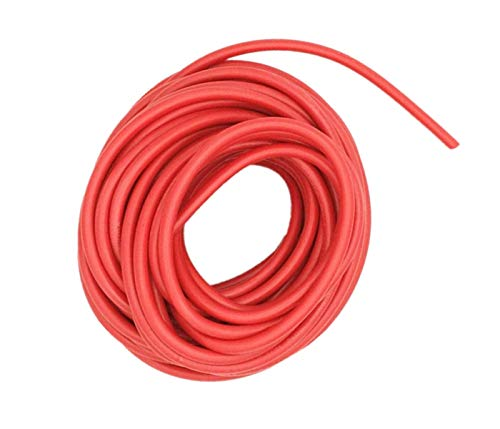 XJS Electric Copper Core Flexible Silicone Wire Cable Red (22AWG 40KV) (2M)