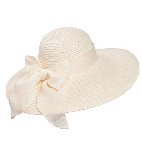 LMJ Outsider Zomer hoed dame groot vizier zonneschaduw, strohoed opvouwen strand hoed UV bescherming zonnehoed