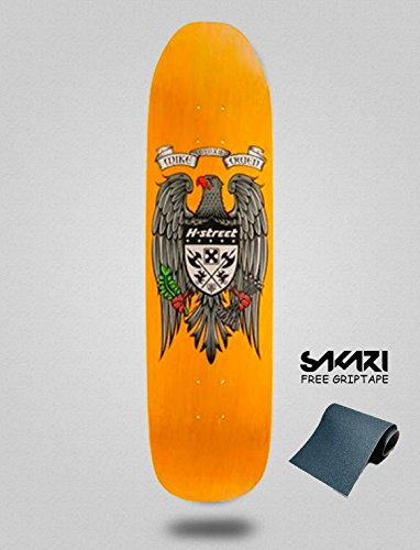 H-Street Monopatín Skate Skateboard Old School Mike Owen New Eagle 8.5