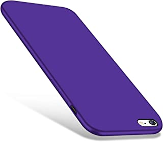 CellEver iPhone 6 / 6s Case, Liquid Guard Silicone Rubber Shockproof Case with Soft Microfiber Cloth Cushion for Apple iPhone 6 / 6S (Purple)