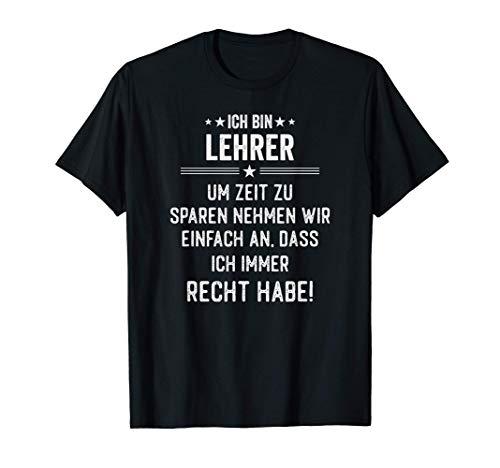 Lehrer Geschenk Lustig T-Shirt