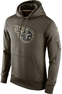 Tennessee Titans 2015 NFL Salute to Service Men's STS Hoody (XXX-Large)