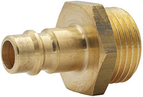 Stecknippel Druckluftkupplung Kupplungsstecker mit Außengewinde 1/2