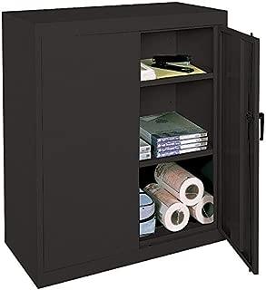 Realspace 3-Shelf Metal Storage Cabinet, 42