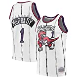 XFKL Tracy McGrady Jersey # 1# 15 Retro NBA Jersey Toronto Raptors Camiseta De Baloncesto Sin Mangas Ropa Deportiva De Entrenamiento,A1,XL
