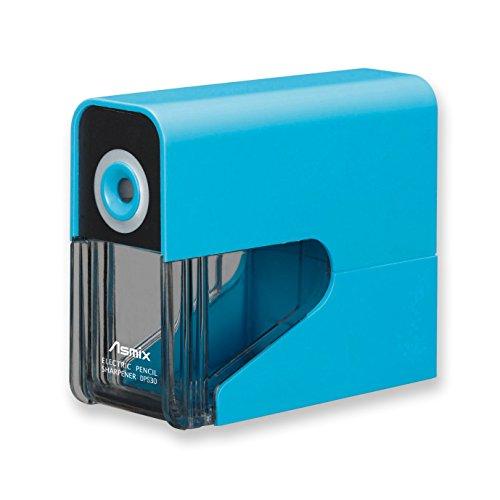 アスカ 鉛筆削り 乾電池式電動シャープナー ブルー DPS30B