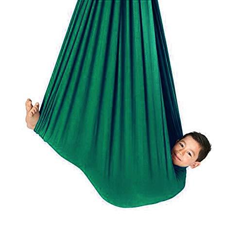 QHY Hamaca para Niños Swing de Terapia Columpio De Hamaca De Terapia para Interiores Ideal para Autismo De Niños Adultos ADHD Aspergers E Integración Sensorial para Yoga Hamaca Voladora