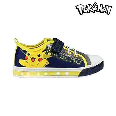 Zapatillas Casual con LED Pokemon 3717 (talla 29) de 2348