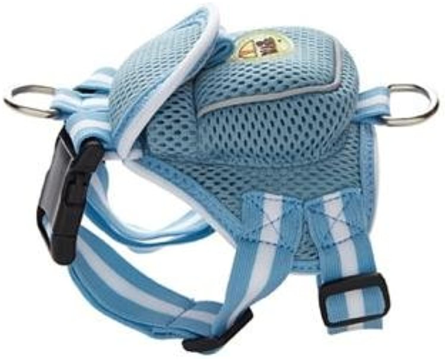 Fashion Mesh Harness with Built in Back Pouch by Pet Life