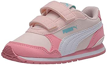 PUMA - Infant St Runner V2 Nl with Fastner Shoes with Fastener Strap Size  9 M US Toddler Toddler  1-4 Years  Color  Rosewater/Peony/Puma White