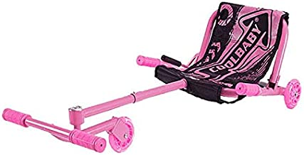 Seat for Smart Self Balance Wave Roller Ride On Toy 3 Wheel Scooter - Color Pink