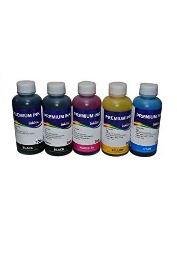 5 Tinten Inktec, die mit Patronen kompatibel sind PGI-525BK, CLI-526BK, CLI-526C, CLI-526M, CLI-526Y für Drucker Pixma IP4850, IP4950, IX6550, MG5150,MG5250, MG5350, MG6150