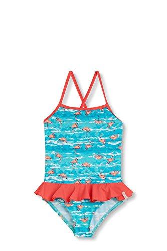ESPRIT Bodywear Mädchen 047EF7A015 Einteiler, Blau (Turquoise 470), 128